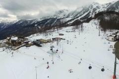 Сочи, Адлер, Красная Поляна, Роза Хутор (Sochi 2016) с квадрокоптера-0-02-28-594
