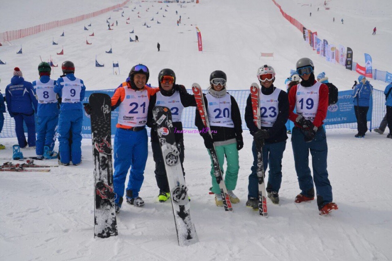 Инструктор сноуборд SB-1