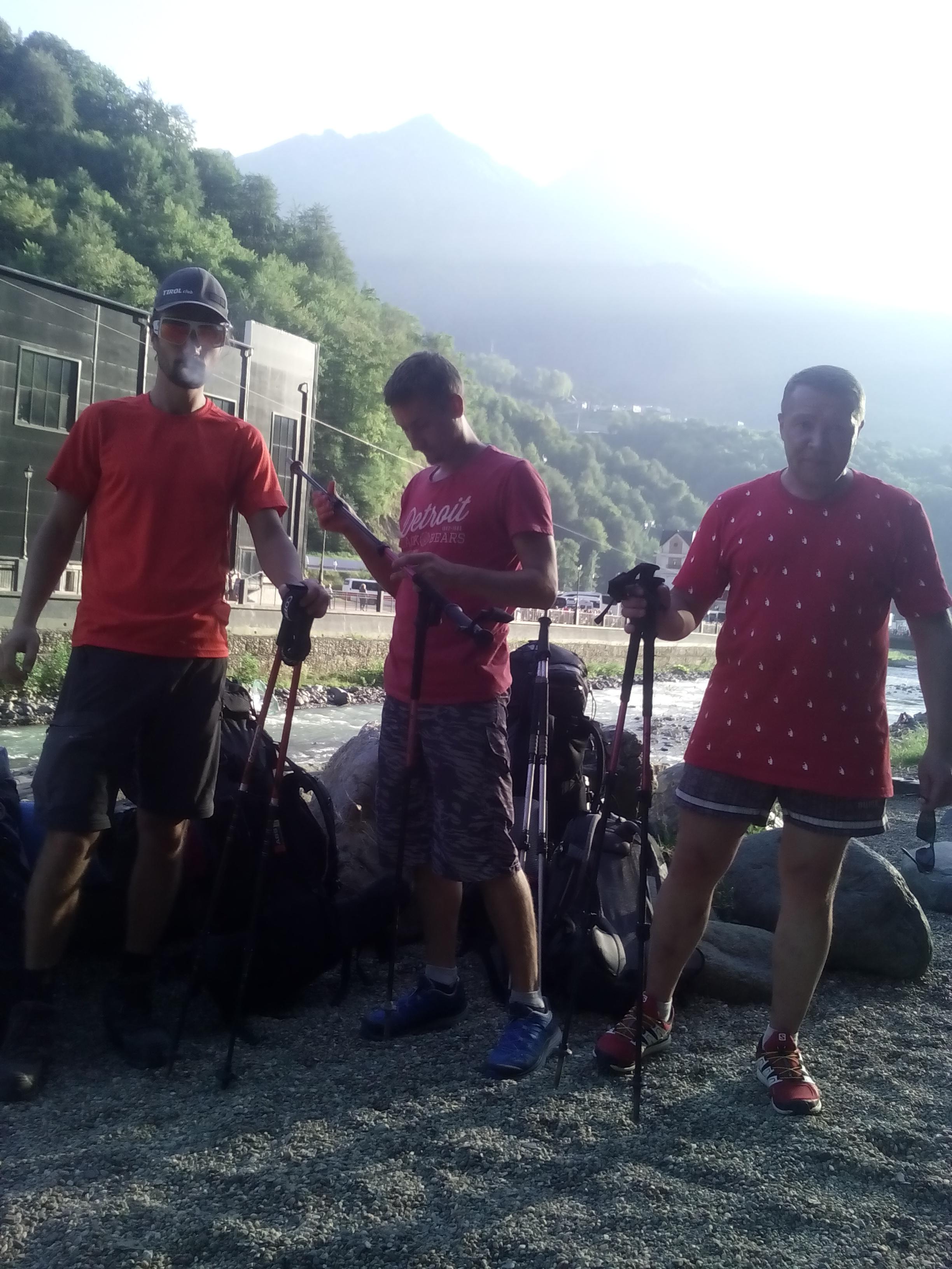 Инструкторы в Красной поляне