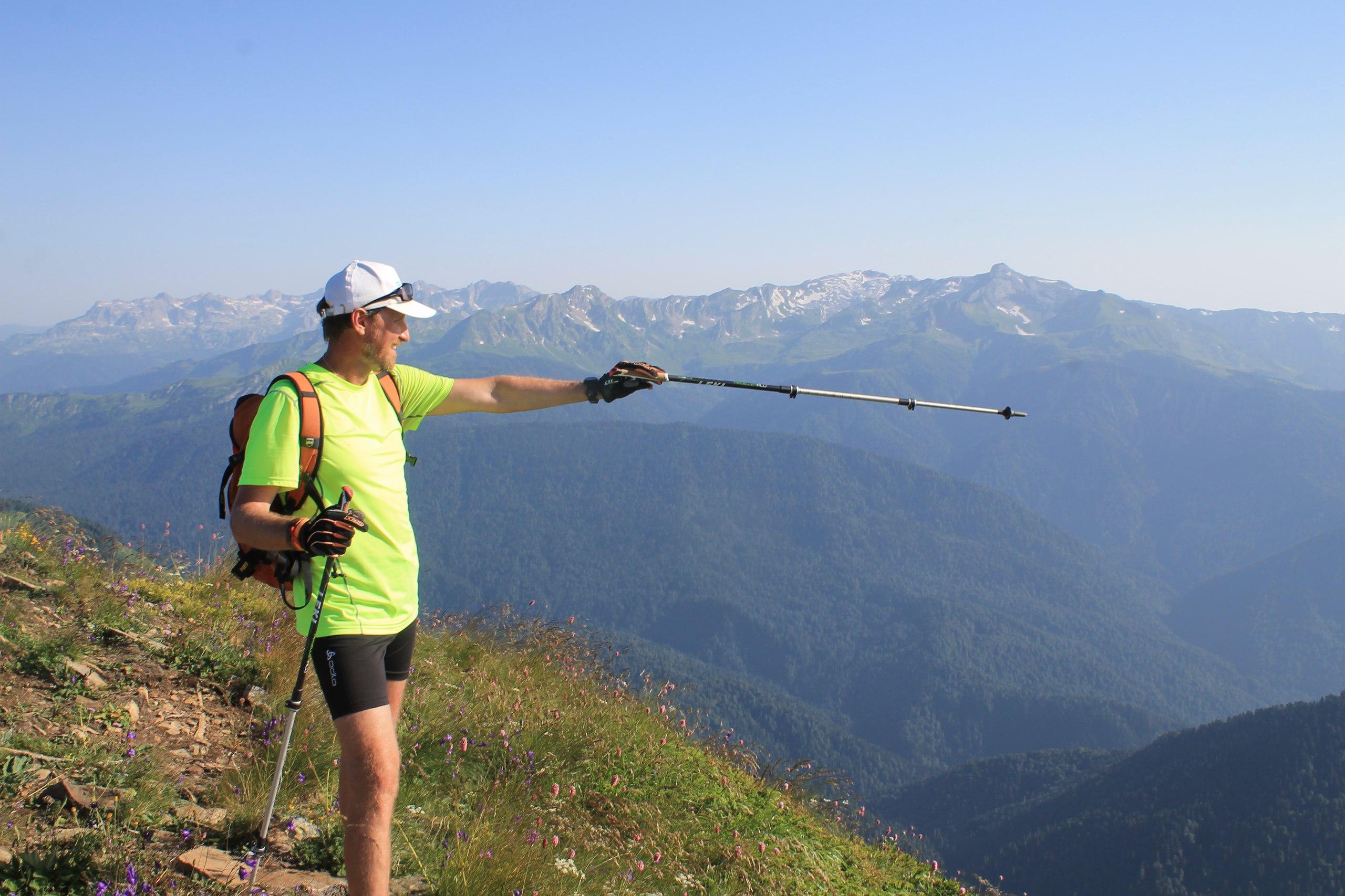 Скандинавская ходьба  с палочками